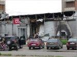 В 12-м микрорайоне сгорел магазин «COLIN'S»