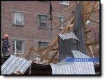 В Иркутске из-за утреннего урагана погиб человек