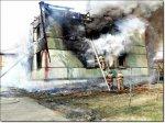 В воскресенье, 3 мая, в 9.28 в иркутском микрорайоне Первомайский загорелся ...